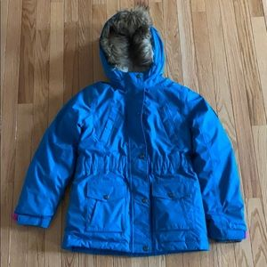 Turquoise winter Land's End jacket